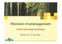 COMMISSION FORET DU 10 03 2021